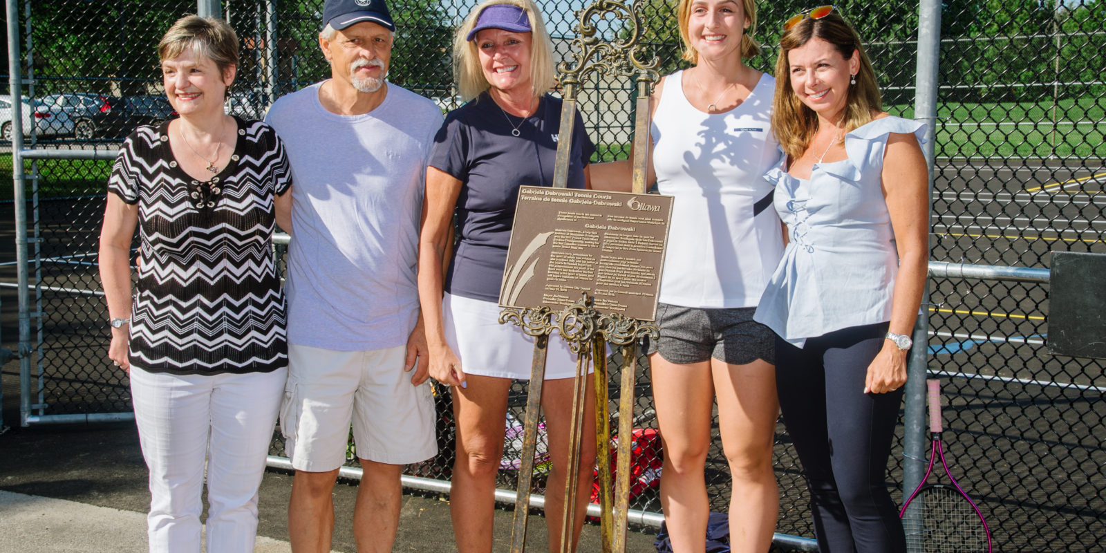 Russell Boyd Tennis Courts Named After Local Tennis Star Gabriela Dabrowski