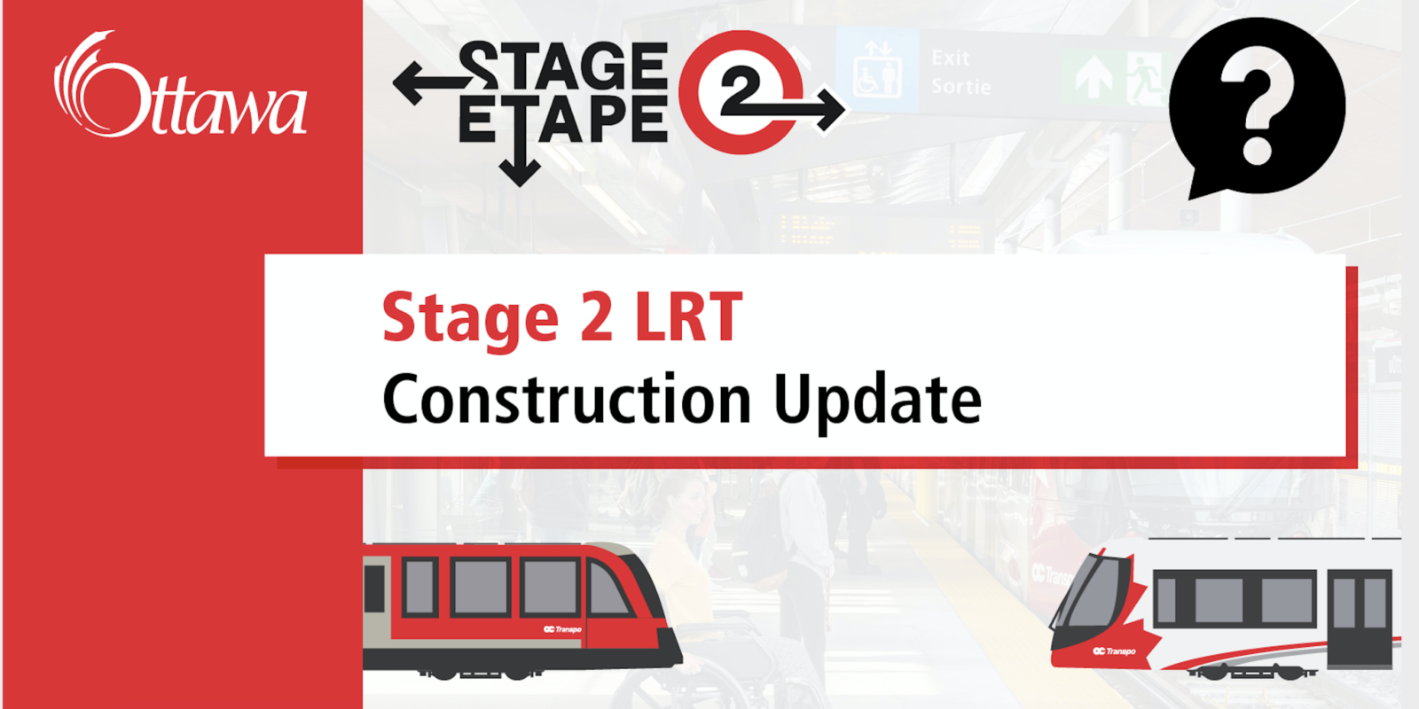 Public Meeting: Stage 2 LRT Construction Update